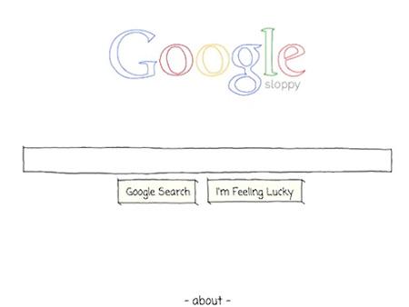 Google Sloppy