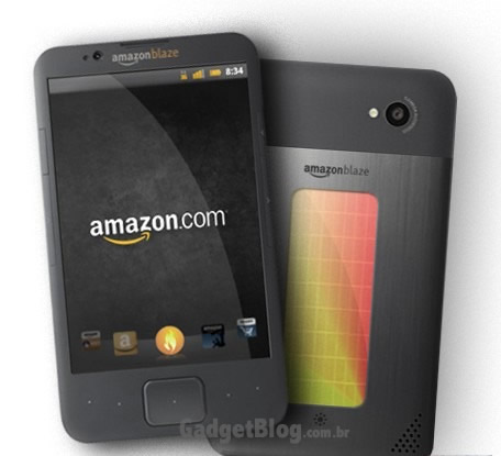 Smartphone da Amazon com Android
