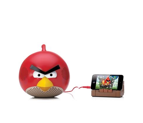Angry Birds também quer entrar no mercado de música. Agora eles possuem três modelos de caixa desom