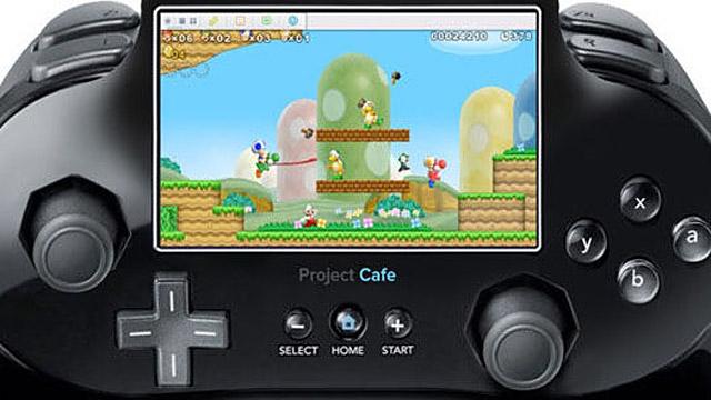 Controle Touchscreen do novo console da Nintendo