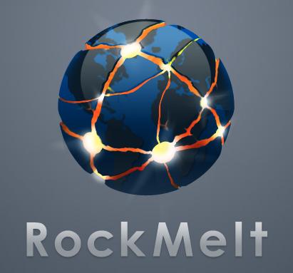 Rockmelt navegador Facebook