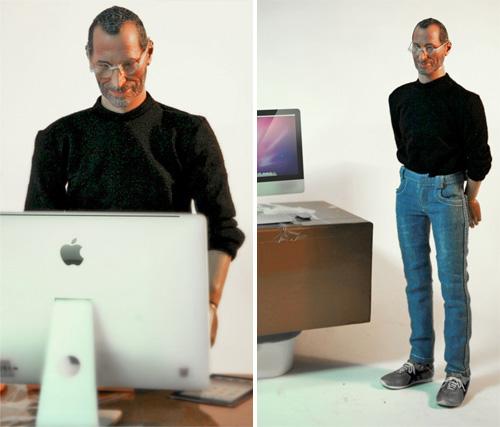 Boneco do Steve Jobs