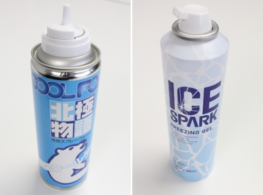 Spray é capaz de deixar o seu corpo resfriado noverão