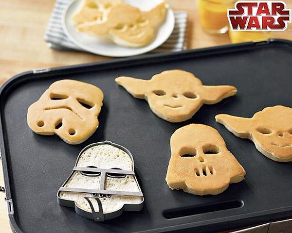 Forma de biscoito em formato de personagens do StarWars