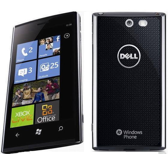 Smartphone da Dell com Windows Phone