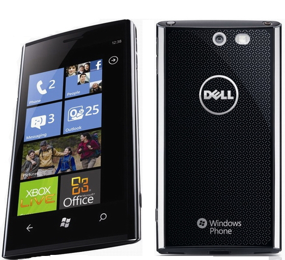 Smartphone da Dell com Windows Phone