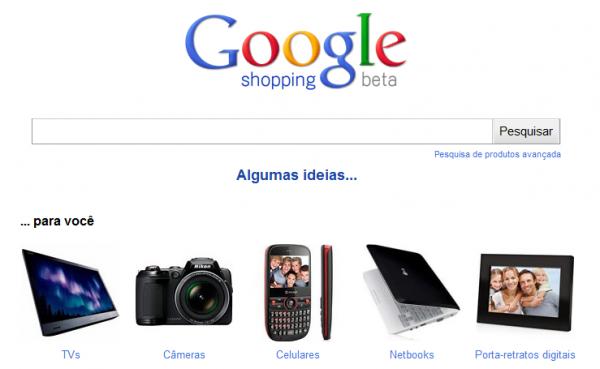Google Shopping finalmente chega noBrasil