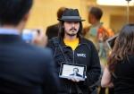 Engenheiro de Software, Steve Streza, presta homenagem a Steve Jobs em São Francisco .