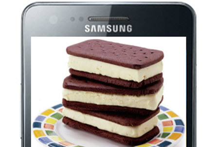 Samsung Galaxy S2 Ice Cream Sandwich