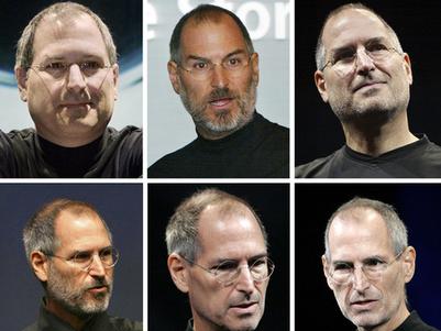 Steve Jobs Rostos