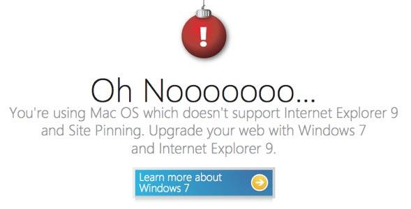 Microsoft desiste de competir e tenta comprar usuários para o Internet Explorer9