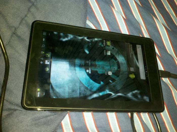 Cyanogen Mod 7 rodando no Kindle Fire