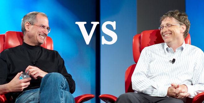 Bill Gates responde os comentários de Steve Jobs na suabiografia
