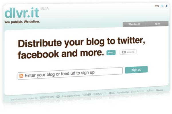 Dlvr.it – Um concorrente de peso ao Twitterfeed e uma das melhores formas de enviar conteúdo para redessociais