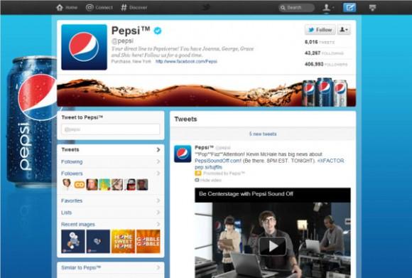 Páginas do Twitter para grandes marcas concorrem com Google+ eFacebook