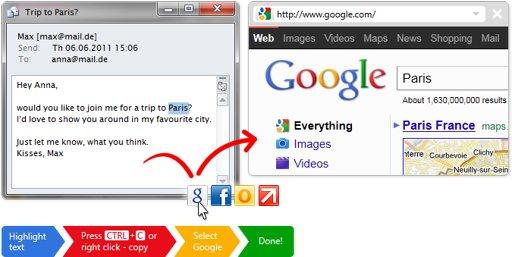 Click.to - O verdadeira copiar e colar
