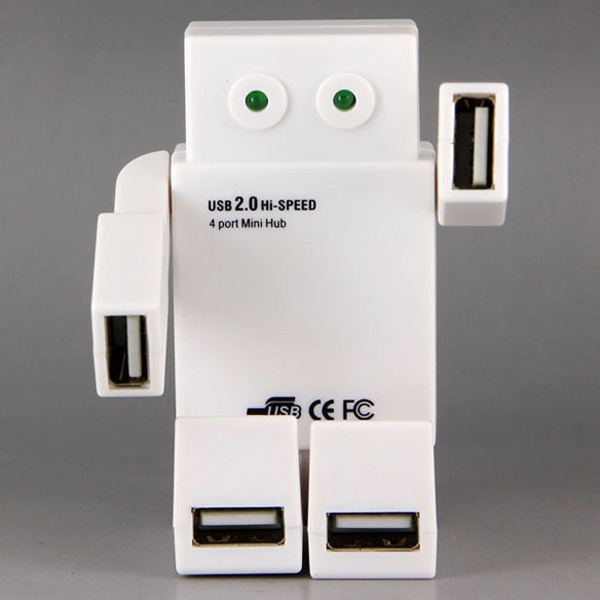 Robô expande as portas USB do seu PC por míseros 5 dólares.
